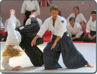 Barbara Moss Sensei, 5th Dan.